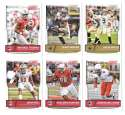 2016 Score (1-440) Football Team Set New Orleans Saints (14 cards)