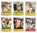 2016 Score (1-440) Football Team Set Pittsburgh Steelers (12 cards)