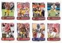2016 Score (1-440) Football Team Set Washington Redskins (15 cards)