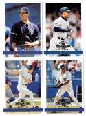 1997 Donruss Signature NEW YORK YANKEES Team Set
