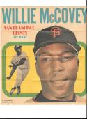 1970 Topps Posters #7 Written on back - SAN FRANCISCO GIANTS