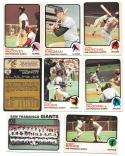 1973 O-Pee-Chee (OPC) VG-EX+ SAN FRANCISCO GIANTS Team Set