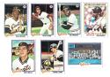 1978 Topps VG+EX Condition SAN FRANCISCO GIANTS Team Set