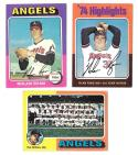 1975 Topps EX+ CALIFORNIA ANGELS Team set (A)