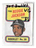 1970 Topps Booklets OAKLAND A's  VG condition