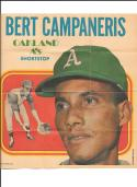 1970 Topps Posters #23 Written on back - OAKLAND A's