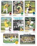 1973 Topps EX+ OAKLAND As Team set