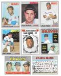 1970 Topps - VG+EX Condition ATLANTA BRAVES Team Set