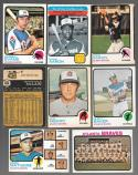 1973 O-Pee-Chee (OPC) VG-EX+ ATLANTA BRAVES Team Set #100 Aaron Fair