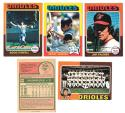 1975 O-Pee-Chee (OPC) - BALTIMORE ORIOLES Team Set EX+ Condition
