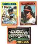 1975 Topps VG Condition - BALTIMORE ORIOLES Team Set