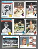 1973 Topps EX+ MINNESOTA TWINS Team Set