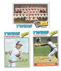 1977 TOPPS VG+EX Checklist Marked - MINNESOTA TWINS Team Set