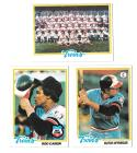 1978 Topps VG+EX Condition MINNESOTA TWINS Team Set