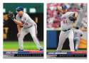 2005 Leaf (1-200 Base set) - MONTREAL EXPOS / WASHINGTON NATIONALS Team Set