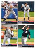 2005 Leaf (1-200 Base set) - NEW YORK YANKEES Team Set