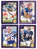 1999 Score Supplemental Football Team Set - BUFFALO BILLS