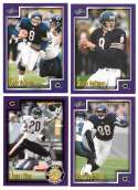 1999 Score Supplemental Football Team Set - CHICAGO BEARS
