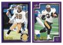 1999 Score Supplemental Football Team Set - NEW ORLEANS SAINTS