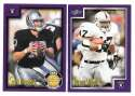 1999 Score Supplemental Football Team Set - OAKLAND RAIDERS
