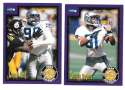 1999 Score Supplemental Football Team Set - SEATTLE SEAHAWKS