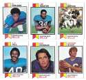 1973 Topps Football Team Set (EX+ Condition) (B) - BUFFALO BILLS