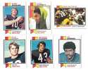 1973 Topps Football Team Set (EX+ Condition) (B) - CHICAGO BEARS