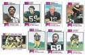 1973 Topps Football Team Set (EX+ Condition) (B) - PITTSBURGH STEELERS