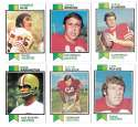 1973 Topps Football Team Set (EX+ Condition) (B) - SAN FRANCISCO 49ERS