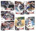 2016 Topps Update - LOS ANGELES DODGERS Team Set