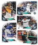 2016 Topps Update - SEATTLE MARINERS Team Set
