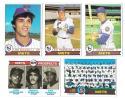 1979 TOPPS - NEW YORK METS Team Set