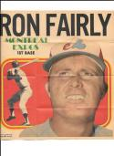 1970 Topps Posters #10 Written on back - MONTREAL EXPOS