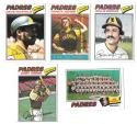 1977 TOPPS EX Condition - SAN DIEGO PADRES Team Set