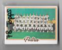 1978 Topps SAN DIEGO PADRES Team Set