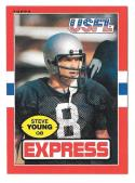 1985 Topps USFL Football Team Set - Los Angeles Express w/ STEVE YOUNG (C)