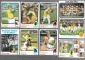 1973 Topps (Ex Condition (C)) - OAKLAND As Team set