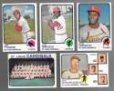 1973 Topps (Ex Condition (C)) - ST LOUIS CARDINALS Team Set