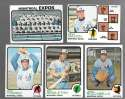 1973 Topps (Ex Condition (C)) - MONTREAL EXPOS Team set