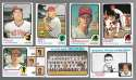 1973 Topps (Ex Condition (C)) - CLEVELAND INDIANS Team Set