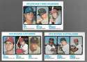 1973 Topps (EX condition (C)) - Rookies 16 card subset