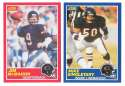 1989 Score Football Team Set - CHICAGO BEARS