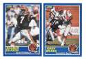 1989 Score Football Team Set - CINCINNATI BENGALS