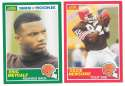 1989 Score Football Team Set - CLEVELAND BROWNS