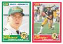 1989 Score Football Team Set - GREEN BAY PACKERS