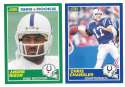 1989 Score Football Team Set - INDIANAPOLIS COLTS w/ Andre Rison RC