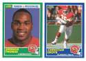1989 Score Football Team Set - KANSAS CITY CHIEFS w/ Derrick Thomas