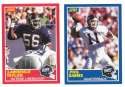 1989 Score Football Team Set - NEW YORK GIANTS