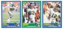 1989 Score Football Team Set - PHILADELPHIA EAGLES w/ Cris Carter RC