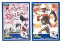 1989 Score Football Team Set - PHOENIX (Arizona) CARDINALS